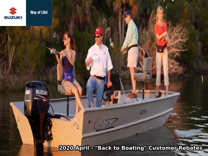 "Suziki Marine - ""Back to Boating"" Customer Rebates"