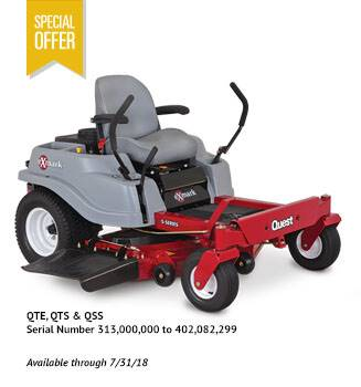 Exmark - $300 Instant Rebate on Quest Mowers