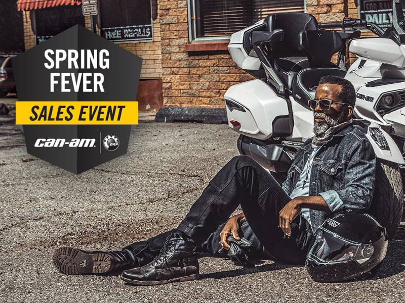 Can-Am - Spyder Spring Fever Sales Event