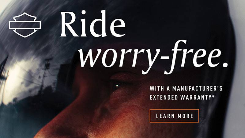 Harley-Davidson - Ride Worry Free -Manufacturer's Extended Limited Warranty
