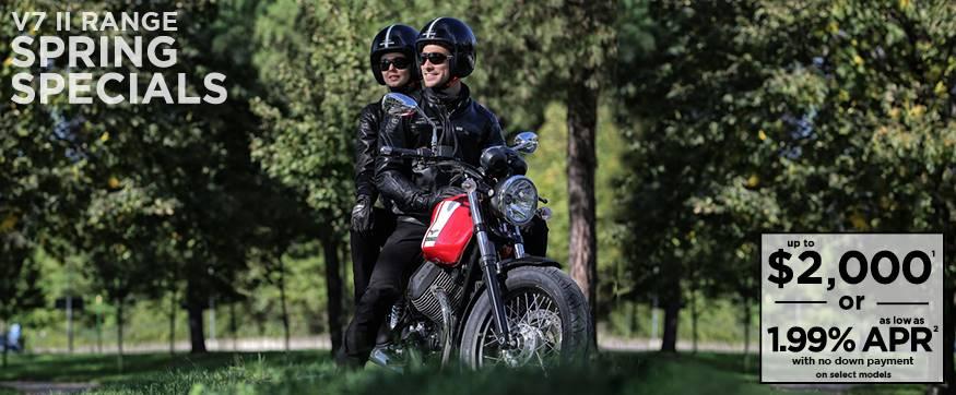 Moto Guzzi V7 II Range Spring Specials