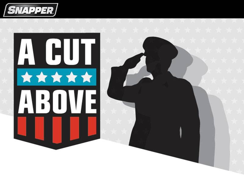 Snapper - A Cut Above - Military & First Responder Discount Program