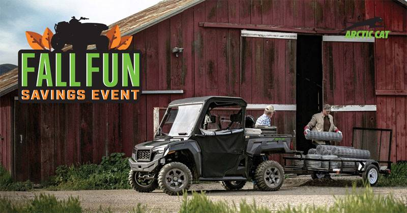 Arctic Cat - Fall Fun Savings Event