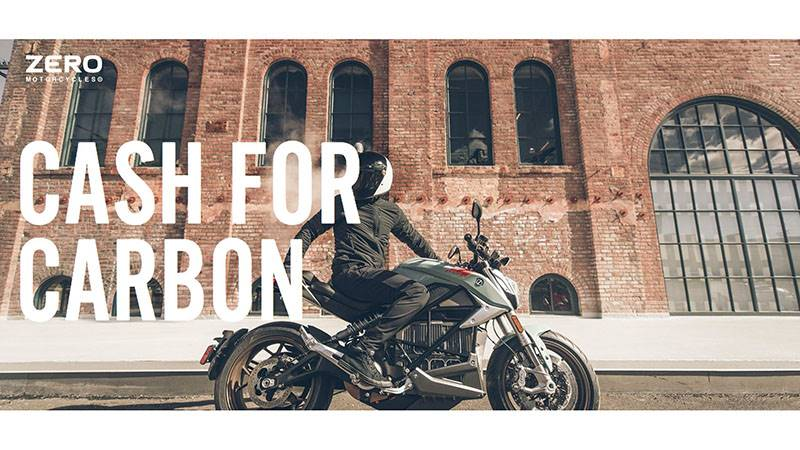 Zero Motorcycles - Cash for Carbon