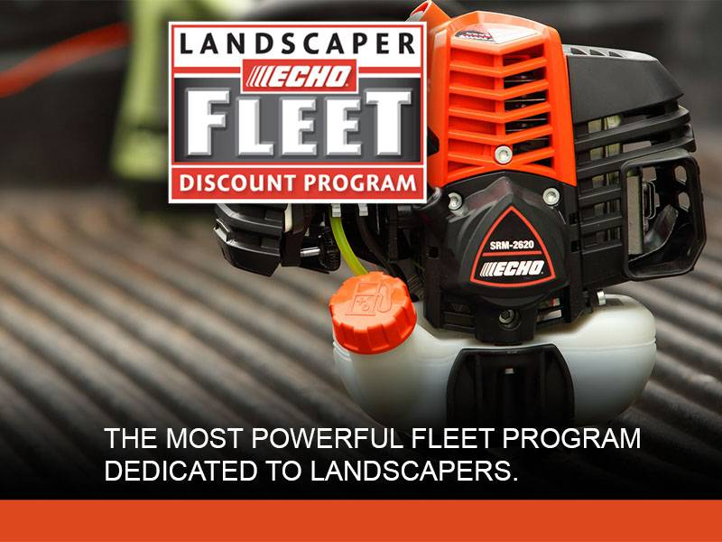 Echo - Landscaper Fleet Discount Program