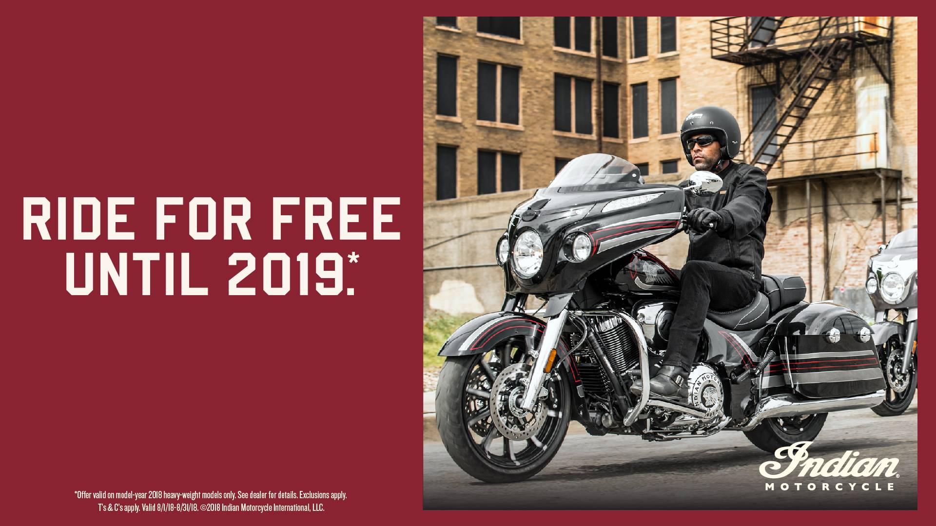 Indian The Road Is Calling 2018 Thunderstroke 111 Financing or Trade-In