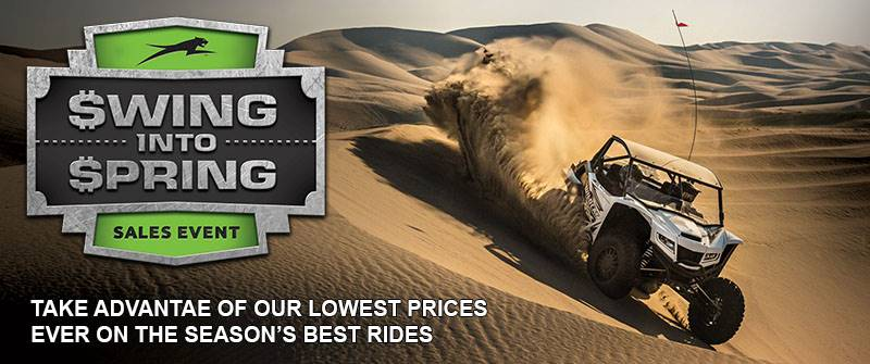 Arctic Cat Offroad - Swing Into Spring Sales Event