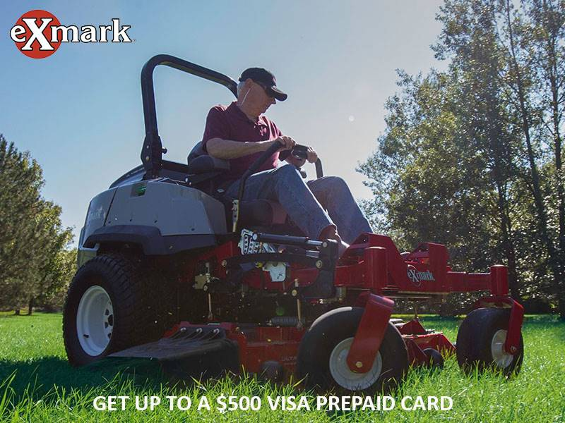 Exmark - Get up to a $500 Visa Prepaid Card
