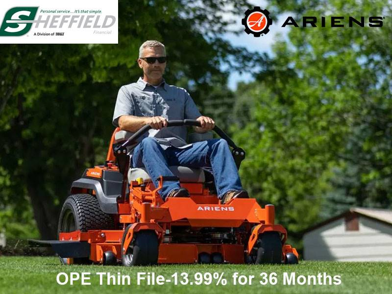 Ariens USA - Sheffield OPE Thin File-13.99% for 36 Months