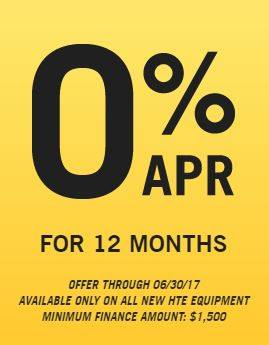 Hustler Turf Equipment Hustler Sheffield Financial - 0% APR for 12 Months