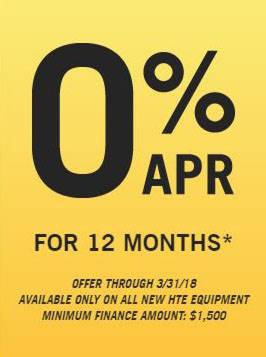 Hustler Sheffield Financial - 0% APR for 12 Months