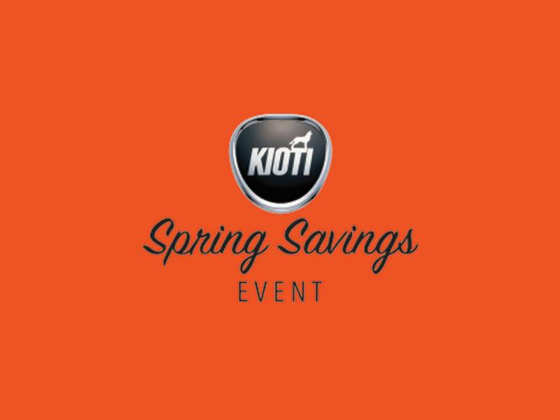 Kioti - Spring Savings Event