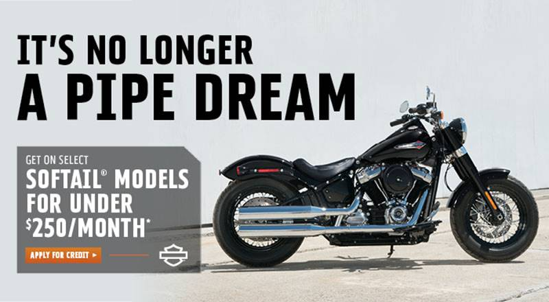 Harley-Davidson - Get on Select Softail® Models For Under $250 Per Month