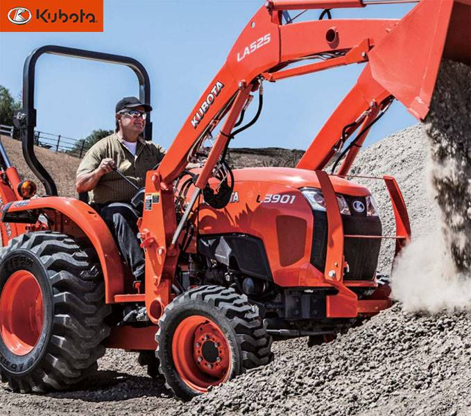Kubota - Select L01 Series - New Purchase Special Offers