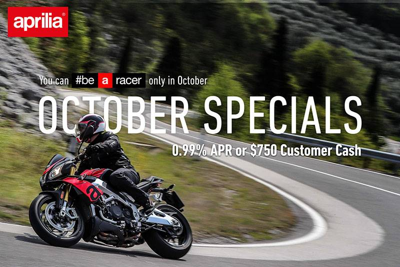 "Aprillia - ""October Specials"" 2019"
