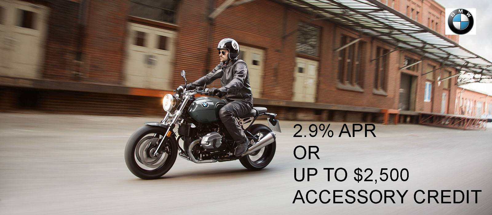 2.9% APR OR UP TO $2,500 ACCESSORY CREDIT