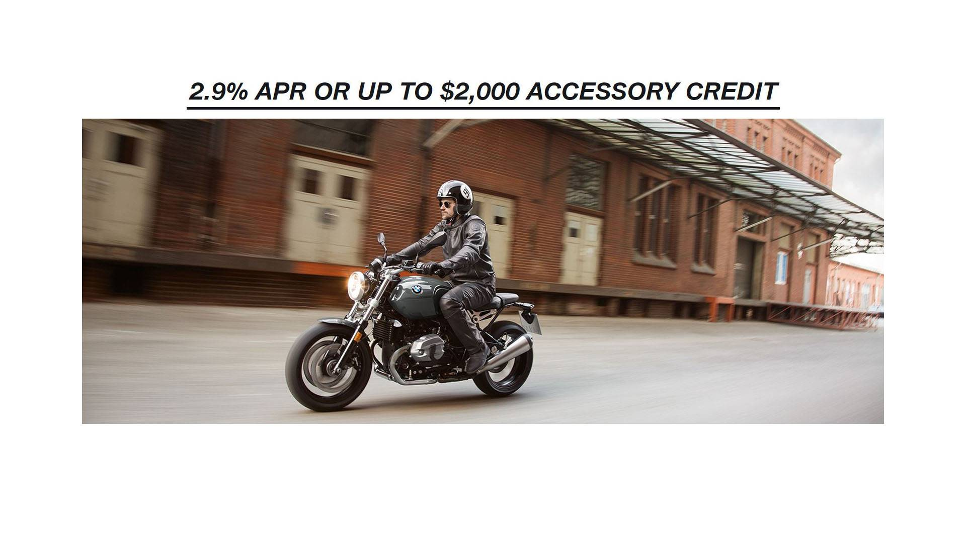 BMW - 2.9% APR OR UP TO $2,000 ACCESSORY CREDIT