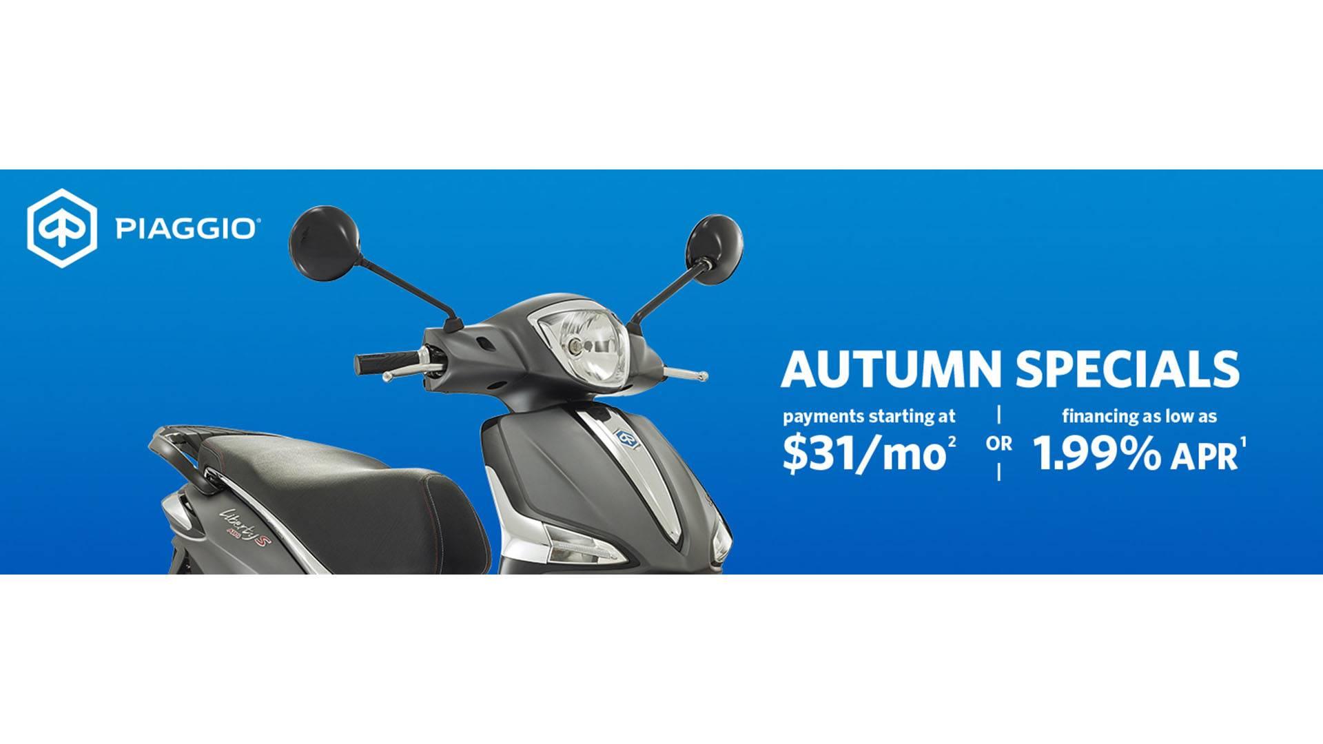 Piaggio Autumn Specials
