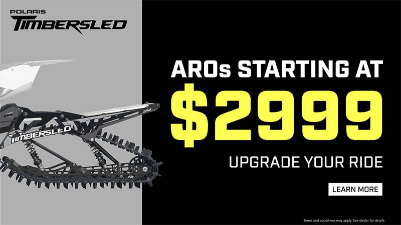 Timbersled - Upgrade Your Ride Sales Event