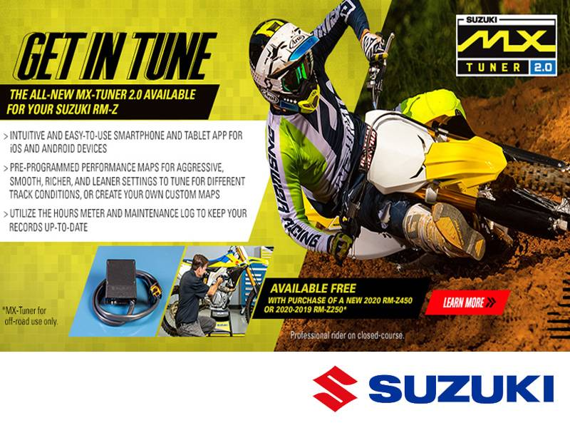 Suzuki Motor of America Inc. Suzuki - Get in Tune