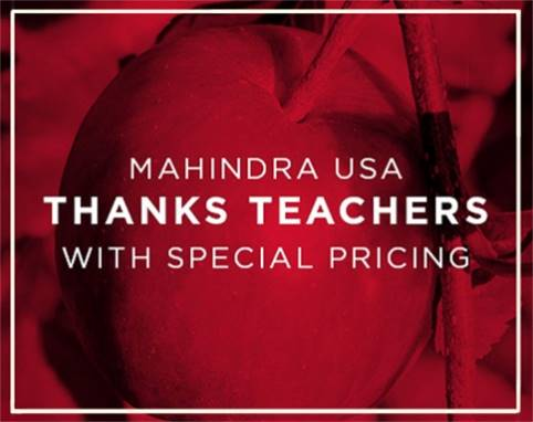 Mahindra Teacher Appreciation Program