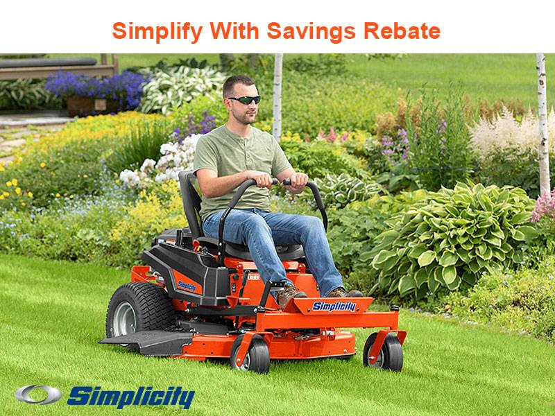 Simplicity - Simplify With Savings Rebate