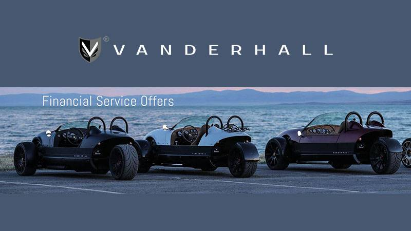Vanderhall Motor Works - Financial Service Offers