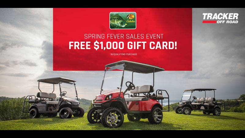 Tracker Off Road - Spring Fever Sales Event!