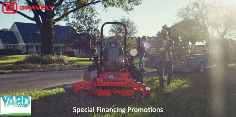 Gravely USA - Yard Card Financing Programs