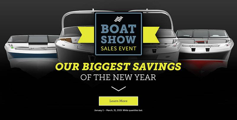 Four Winns - Boat Show Sales Event