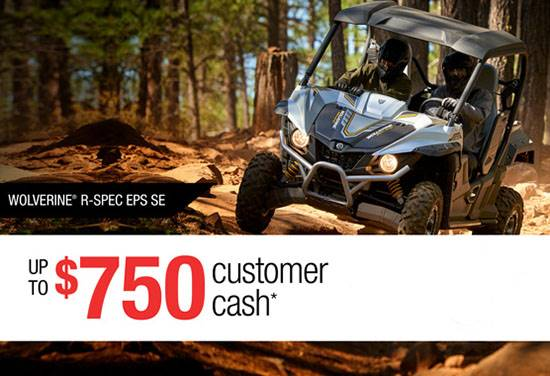 Yamaha Motor Corp., USA Yamaha - Current Offers - Recreation Side-By-Side - APR and Cash Back