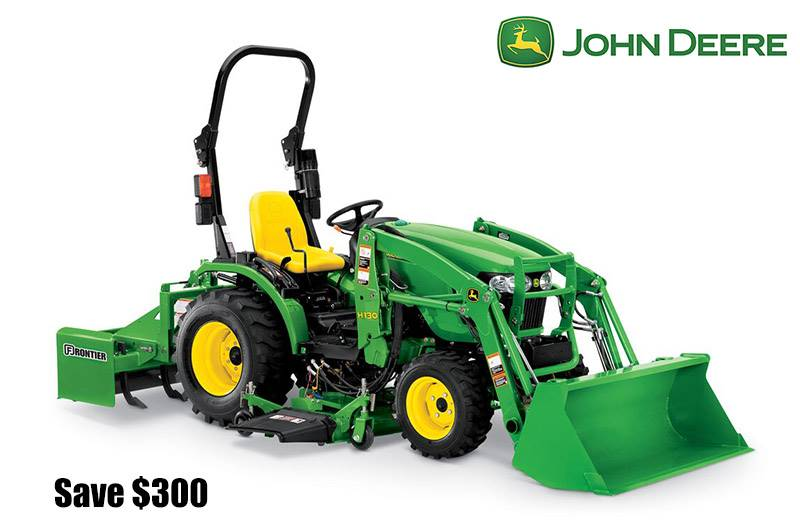 John Deere - Save $300 on 2025R Compact Tractors