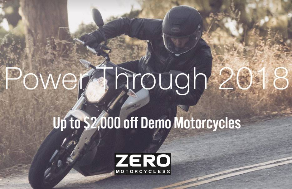 Zero Motorcycles - Power Through 2018