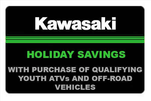 Kawasaki - Holiday Savings