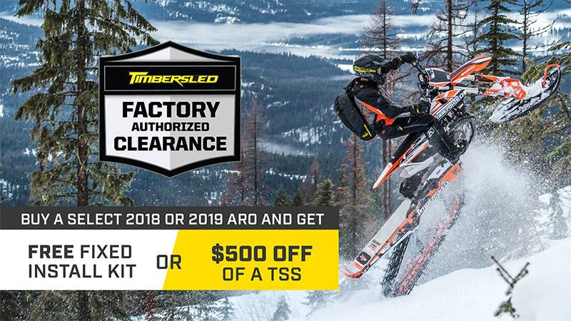 Timbersled - Factory Authorized Clearance