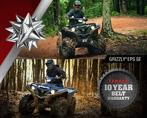 Yamaha - Holiday Sales Event - Utility ATV