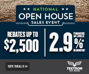 Bad Boy Off Road (Textron Off Road) - National Open House Sales Event