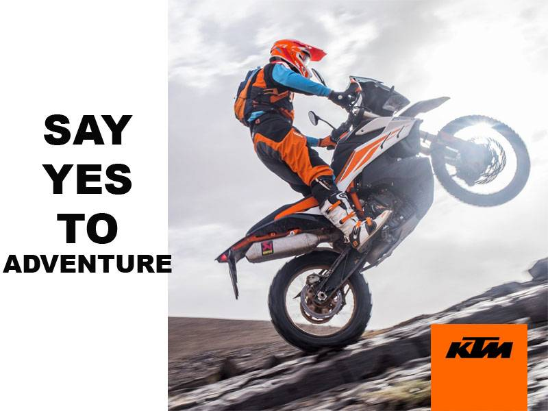 KTM - Say Yes to Adventure