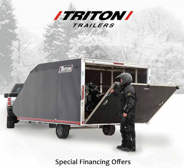 Trition Trailers - Special Financing