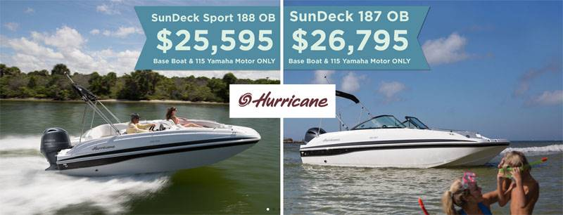 Hurricane Boats - SAVE BIG ON AMERICA'S
