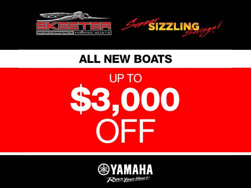 Skeeter - All New Boats Up To $3,000 Off