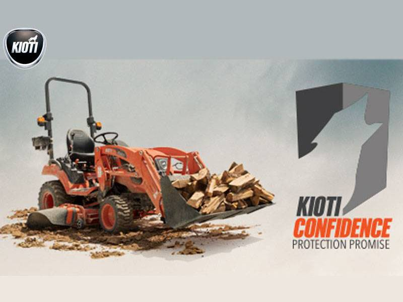 Kioti - Confidence Protection Promise
