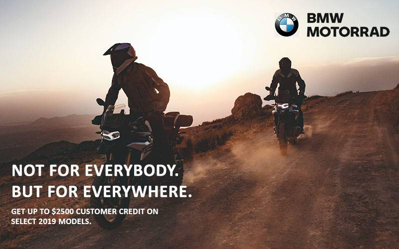 BMW - Motorrad Q1 Retail Offer