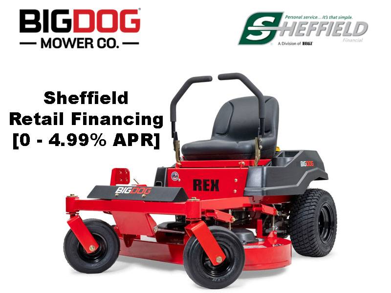 Big Dog Mowers - Sheffield Retail Financing [0 - 4.99% APR]