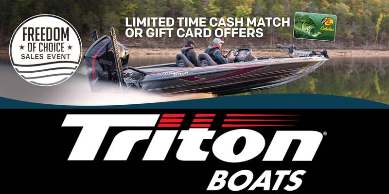 Triton - Freedom of Choice Sales Event
