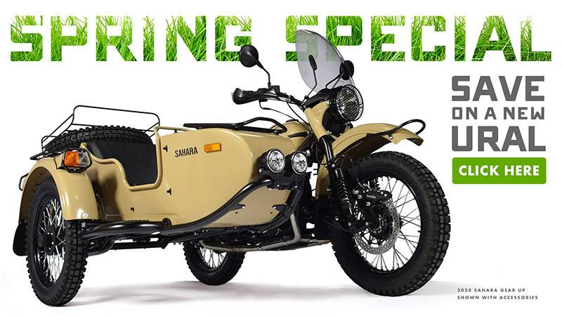 Ural Motorcycles - Spring Special
