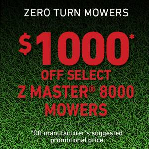 Toro - $1000 USD Off Select Z Master 8000 Series Mowers
