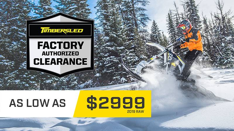 Timbersled Products Inc. Timbersled - Factory Authorized Clearance