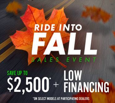 Kawasaki RIDE INTO FALL SALES EVENT - RETAIL FINANCE OFFERS