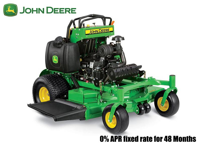 John Deere - 0% APR fixed rate for 48 Months on QuikTrak Stand-On Mowers